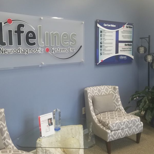 Lifelines Interior Office Signs