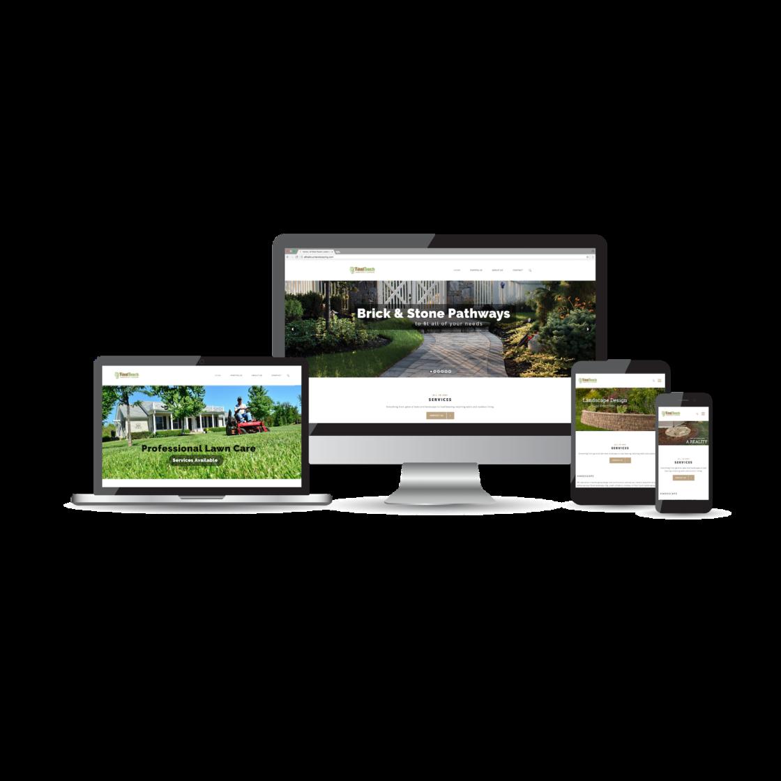 A Final Touch Landscaping & Lawncare Website Design