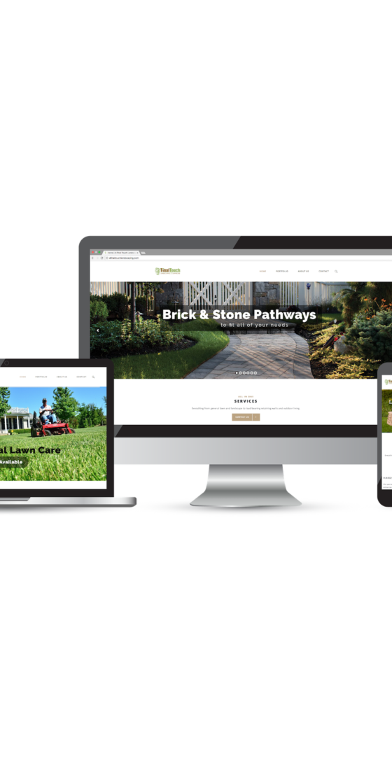 A Final Touch Landscaping & Lawncare Website Design