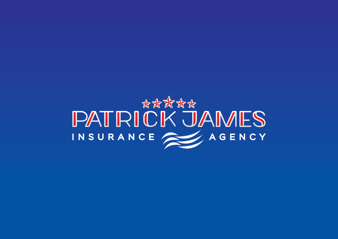 Patrick James Insurance Agency Logo Development