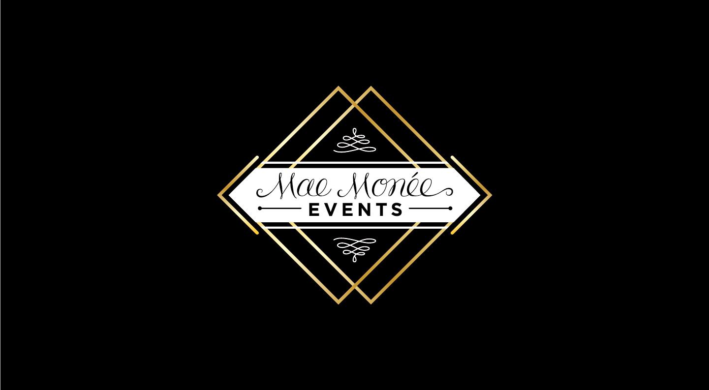 Mae Moneé Events Logo Development