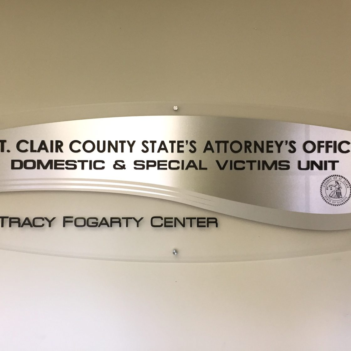 Tracy Fogarty Center Custom Stand Offs with acrylic panels