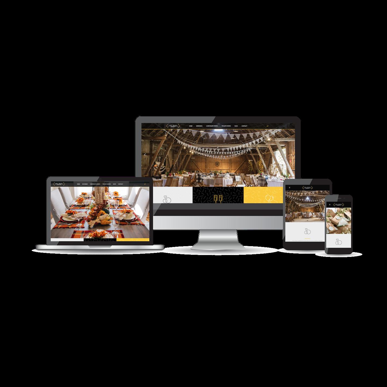 Mae Monee Events Website Design