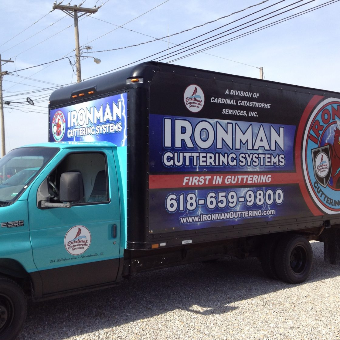 Ironman Full Truck Wrap