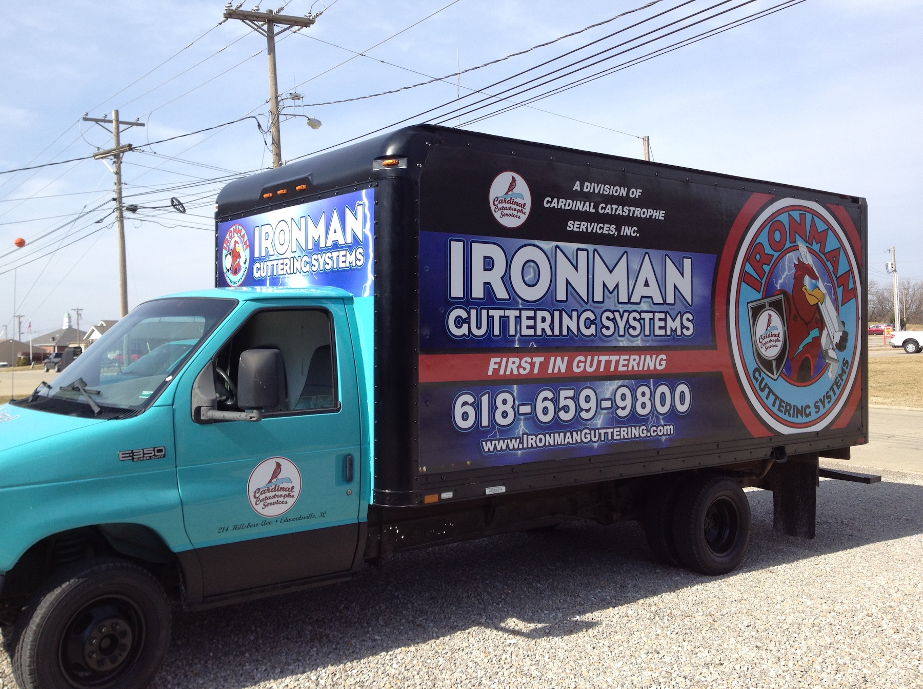Ironman Full Truck Wrap
