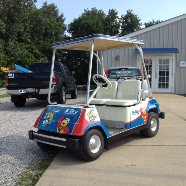 B-Dry Golf Cart Wrap