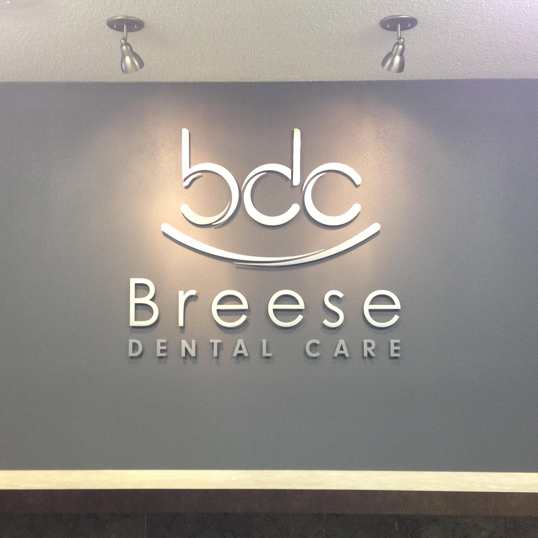 Breese Dental Care Interior Sign Digitalartz Sign Studio Graphics Haus