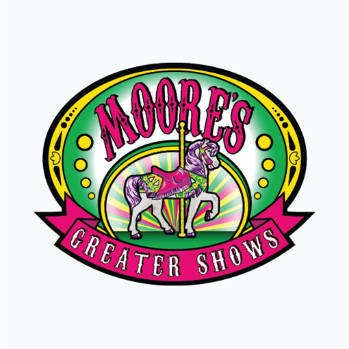 Moore's Greater Shows Logo