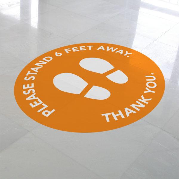 FloorGraphics_OrangeCircle